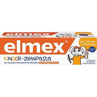 Elmex Kinderzahncreme 50ml Tube