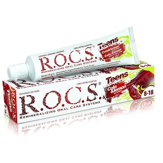 ROCS teens Cola & lemon Zahncreme 74g